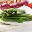 Green beans - French Beans - Stok fotoraf