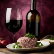 Risotto with red wine — Stock Photo #5539695