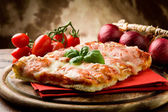Pizza Margherita — Stockfoto