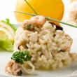 Risotto with Seafood — Stock Photo