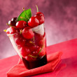 Stock Photo: Cherry Cocktail 3