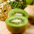 Kiwi Dessert on cutting board — Stock Photo #5703285