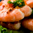 Grilled Prawns - Stockfoto