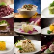 Risotto-collage — Stockfoto