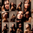 Royalty-Free Stock Photo: Collage of Sexy Woman