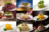 Risotto Collage — Stockfoto