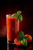Tomato Juice- Bloody Mary Cocktail — Stock Photo