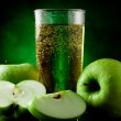 Green Apple Juice — Stock Photo #5800407
