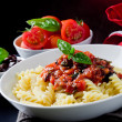 Pasta with Tomato sauce — Stock Photo #5800704
