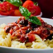 Pasta with Tomato sauce — Stock Photo #5800707