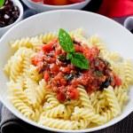 Pasta with Tomato sauce — Stock Photo