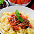 Pasta with Tomato sauce — Stock Photo #5800718