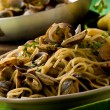Stock Photo: Pastwith Clams