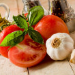 Italian main ingredients - Stock Photo