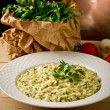 Risotto with Herbs — Stock Photo