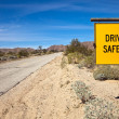 Stock Photo: Drive Safely Sign