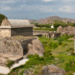 Buildings at Gingee Fort — Stock Photo