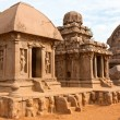 Rathas at Mahabalipuram — Stock Photo