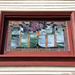 Decorative Window — Stock Photo