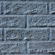 Stock Photo: Blue Brick Wall Background