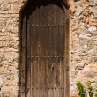 Old Church Backdoor — Stock Photo #5863914