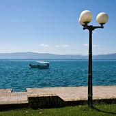 Ohrid Lake Scene — Stock Photo