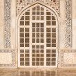 Taj Mahal Door - Stock Photo