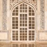 Taj Mahal Door — Stock Photo