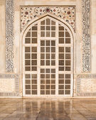 Taj Mahal Door — Stock Photo