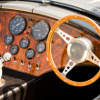 Stock Photo: Sports car interior