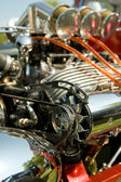 Hot-rod engine — Stock Photo