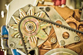 Engineering abstract — Stock Photo