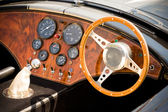 Sports car interior — Stock Photo