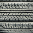 Tire tread - Stock Photo