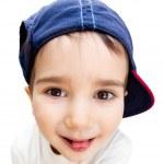 Portrait of a boy wearing a cap — Stock Photo
