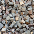 Stone square bricks — Stockfoto