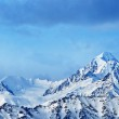 Top of High mountains, covered by snow. India. — Stock Photo #5545847