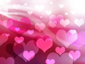 Valentine background with heart — Stock Photo