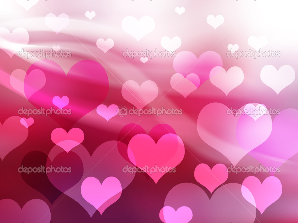 Valentine background with heart  Stock Photo #5822022