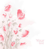 Flower Background — Vecteur