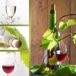 White and red wine — Stock Photo #6290582