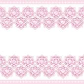 Pink wallpaper pattern — Stock Vector