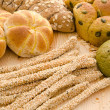 Stock Photo: Photo of various assorted bread