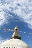 Boudhanath Stupa in Kathmandu Nepal — Stock Photo