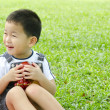 Stock Photo: Asian child candid shot