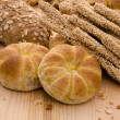 Variety of Organic Breads — Stock Photo
