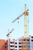 Hoisting crane — Stock Photo