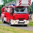 Fighting fire truck — Stock Photo #5967839