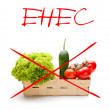 Alert for EHEC - Stock Photo