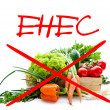 Alert for EHEC — Stock Photo
